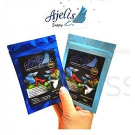 Ajelis Guppy Premium Food -50g by www.aquastore.in