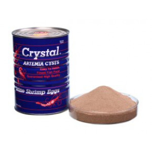OSI Brine Shrimp Eggs - CRYSTAL BRAND 100g by www.aquastore.in