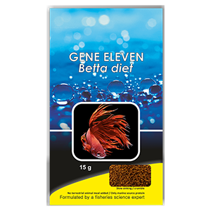 GENE ELEVEN - Premium Betta food by www.aquastore.in