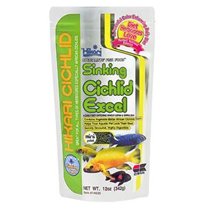 Hikari Sinking Cichlid Excel (Mini) -342g by www.aquastore.in