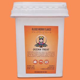 Oceantreat - Bloodworm Flakes-100g by www.aquastore.in
