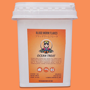 Oceantreat Bloodworm Flakes-100G