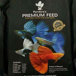 Pandora'S Premium Fish Food For Guppies-100G