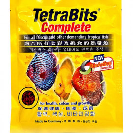 Tetra Bits Original Complete Fish Food - 15Gm Pouch by www.aquastore.in