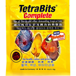 Tetra Bits (Original) Complete Fish Food - 15Gm Pouch