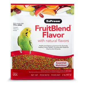 ZuPreem FruitBlend Premium Bird Diet for Small Birds- 900Gm