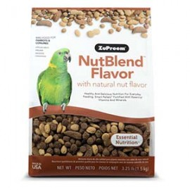 zupreem nutblend for parrots and conures - 1.4 kg by www.aquastore.in
