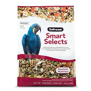 Zupreem Smartselects Macaws for Lovebirds - 1.8 Kg