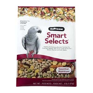 Zupreem Smartselects for parrots and conures - 1.81 Kg by www.aquastore.in