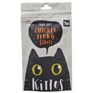 Kittos Chicken Jerky Strips