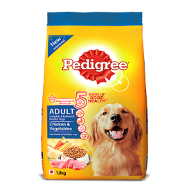 Pedigree Adult Chicken and Vegetables – 1.2kg