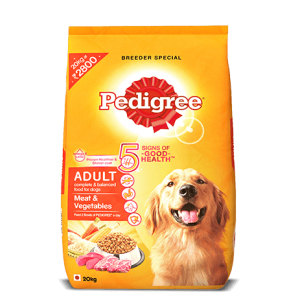 Pedigree Adult Meat and Vegetables -1.2kg