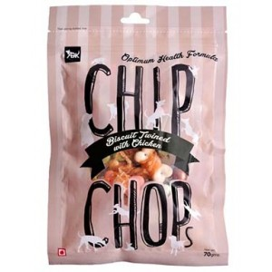 Chip Chops Biscuit Twined with