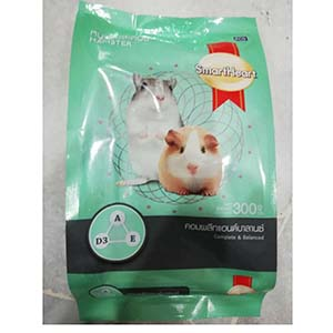 SmartHeart Hamster Complete and Balanced Food -300g